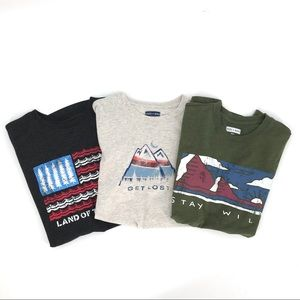 3ea State of Mine Trademark men's graphic t-shirts